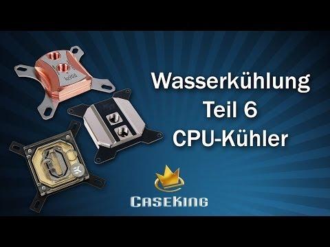 Wasserkühlung Teil 6 - CPU Kühler - Caseking TV