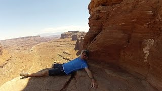 Hiking in Moab, Utah