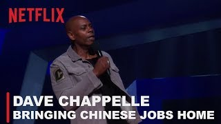 Dave Chappelle - Bringing Chinese jobs back to America  | Equanimity