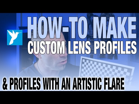 How-to Make A Custom Lens Profile Fast & Easy In Corel AfterShot Pro