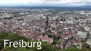 Freiburg im Breisgau Germany  city images : GERMANY: Freiburg city & Schlossberg tower [HD]
