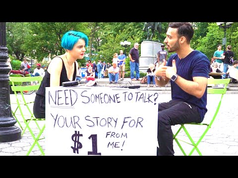 New Yorkers share their story for a dollar