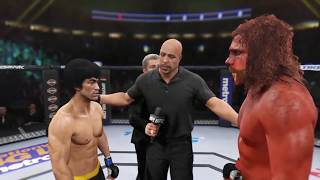 Bigfoot vs. Bruce Lee (EA Sports UFC 2) - CPU vs. CPU
