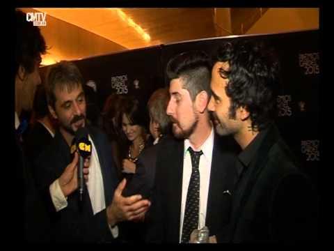 Octafonic video Entrevista CM - Premios Gardel 2015