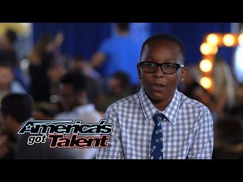 Year - The talented sixth-grader performs a powerful cover of