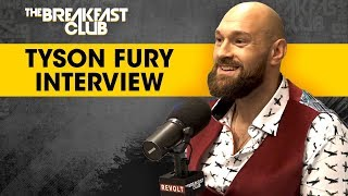 Tyson Fury Opens Up About Mental Health, Overcoming Alcoholism & Fighting Deontay Wilder