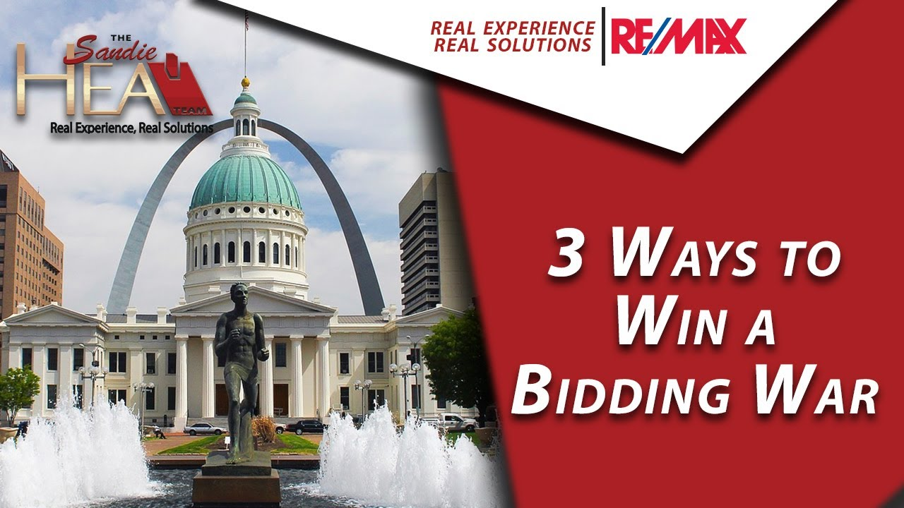 3 Tips for Winning a Bidding War