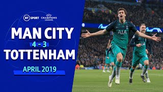 Video Man City vs Spurs (4-3) (Spurs go through on away goals) | UEFA Champions League Highlights MP3, 3GP, MP4, WEBM, AVI, FLV Agustus 2019
