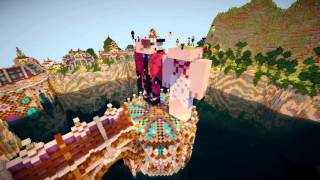 Minecraft Timelapse - Сказочный залив