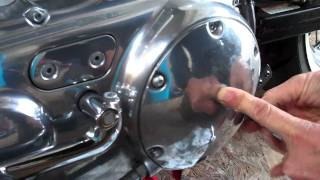 4. Delboy's Garage, Harley Sportster Clutch Adjustment.