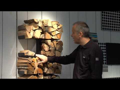 Radius Design Wooden Tree Kaminholzregal