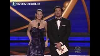 Ellen Pompeo & Patrick Dempsey - The 58th Emmy Awards