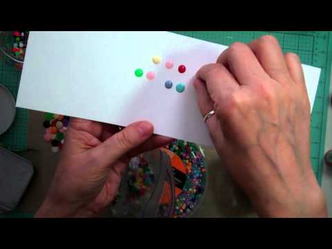 Make your own enamel dots