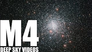 White dwarfs in M4 - Deep Sky Videos