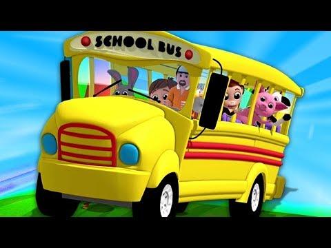 Roda di Bas | lagu bas untuk kanak-kana | The Wheels On The Bus