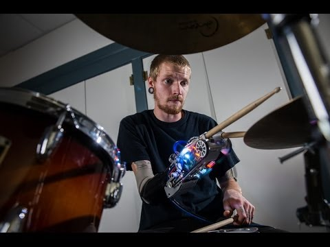 Video: Robotic Drumming Prosthesis