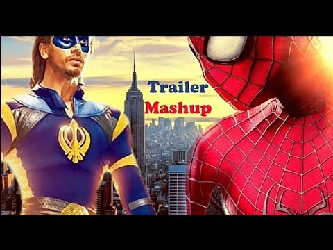 A Flying Jatt _ The Amazing Spider-man _ Official Trailer Mashup