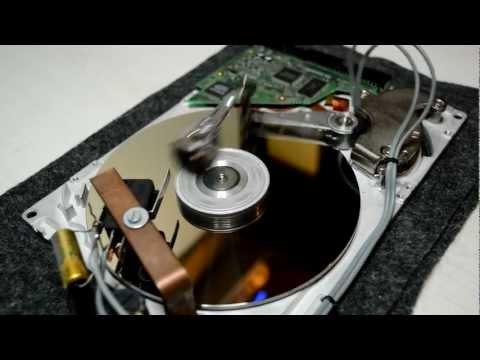 Harddrive solenoid motor
