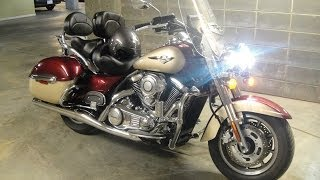 8. RUSSELL DAY-LONG SEAT ON KAWASAKI VULCAN NOMAD 1700 REVIEW
