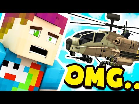 HE GOT A HELICOPTER?! 😱 (видео)