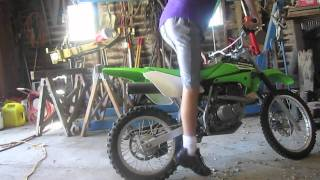 6. 2006 Kawasaki KLX 125 Walk Around