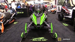 1. 2015 Arctic Cat ZR 5000 LXR Sled - Walkaround - 2014 Toronto ATV Show