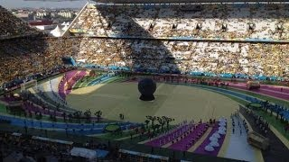 FIFA WORLD CUP OPENING CEREMONY BRAZIL 2014 FOOTAGE