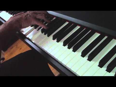 Piano improv #01 - Roland A-88 & Synthogy Ivory 2 (видео)