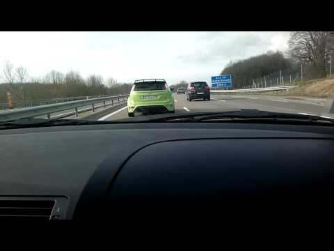 BMW 330D E46 VS FORD FOCUS RS