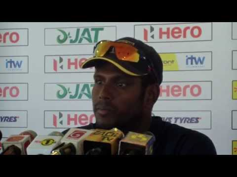 Angelo Mathews on Center Fruit TV commercial