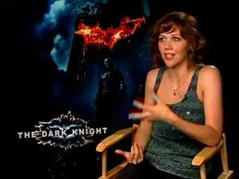 Spoiler Alert! Maggie Gyllenhaal interview The Dark Knight