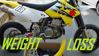 5. SUPERMOTO / MOTORCYCLE WEIGHT LOSS EXPERIMENT (DRZ400)