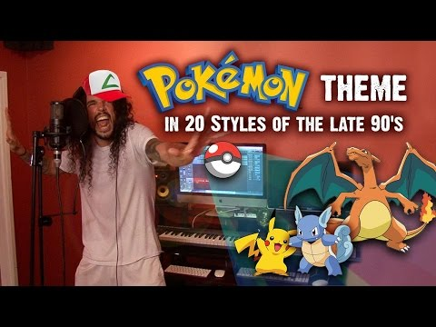 Pokemon Theme Song Covered In 20 1990  s Styles