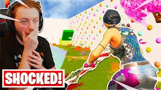 The ending of this RAINBOW Deathrun will SHOCK you... (Fortnite Creative)