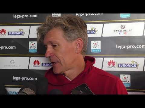 Arezzo-Olbia 0-1, intervista a Massimo Pavanel