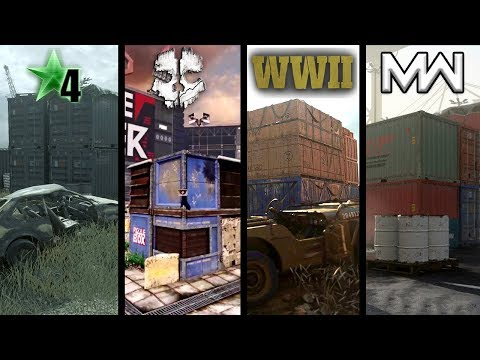 The Evolution of Shipment (Shipment in Every Call of Duty)