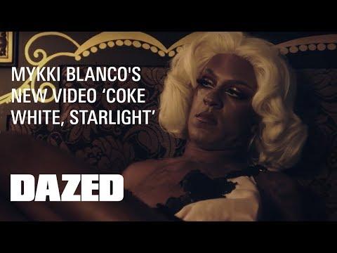 Here's Mykki Blanco's video for 'Coke White, Starlight'