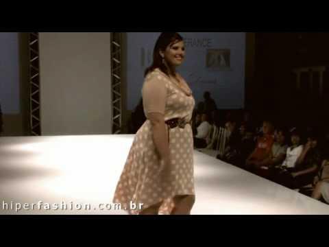 Pokaz mody dla puszystych kobiet   full figure fashion show