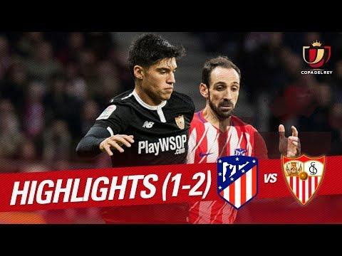 Resumen de Atlético de Madrid vs Sevilla FC (1-2)