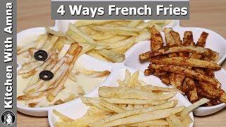 4 Ways French Fries Recipes   Ramadan Recipes For Iftar   Kitchen With Amna