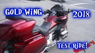 8. 2018 Honda Gold wing test ride - first impressions