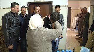 بعد 13 عام داخل سجون الاحتلال : الافراج عن الاسير محمد الشاويش ووالدة صديقه الاسير وجيه أبو العون تستقبله