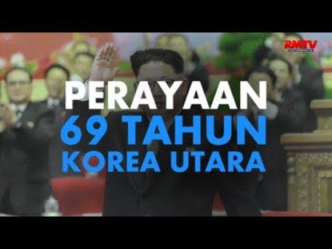 Meriah, Perayaan 69 Tahun Korea Utara di Jakarta