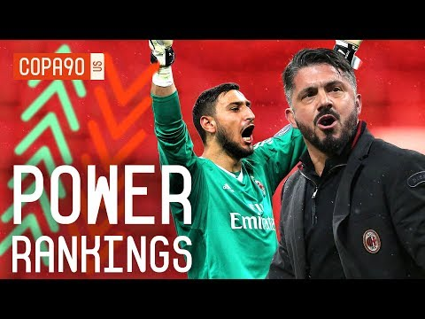 Video: Has AC Milan Been Revived By Gattuso? | COPA90 Power Rankings