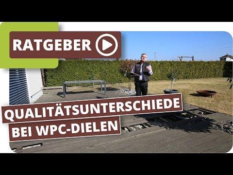 Qualitätsunterschiede bei WPC Terrassendielen - 8 Jahre alte WPC Terrasse im Test