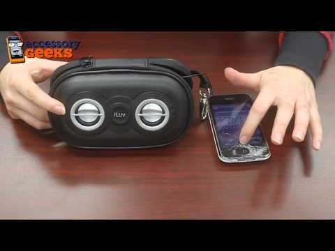 accessorygeeks - Looking for a portable speaker for your MP3 player? Check out the iLuv Active Sport Portable Speaker at www.AccessoryGeeks.com! http://www.accessorygeeks.com...