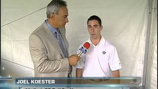 Joel Koester on the Golf Channel