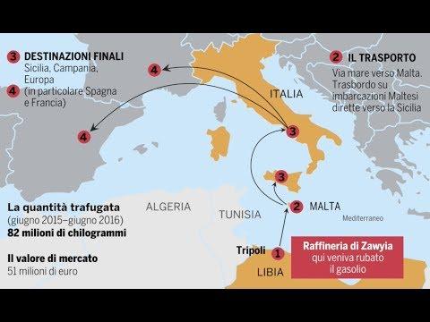 Dirty oil, così il gasolio sporco dalla Libia finisce nei nostri serbatoi