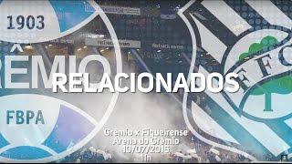 Confira os jogadores relacionados do Tricolor para a partida contra o Figueirense, na Arena do Grêmio válida pela 14ª rodada do Campeonato Brasileiro 2016. G...