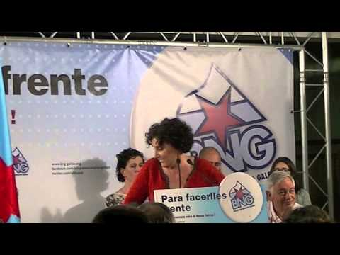 Intervención dos nosos políticos nos mítines en Gondomar.